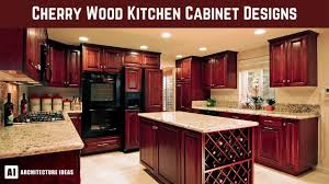 cherry wood kitchen ideas cherry wood kitchen cabinet designs the most trending thing now