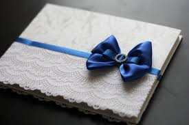 baby shower sign in book royal blue wedding guest book lace baby shower book blue reception