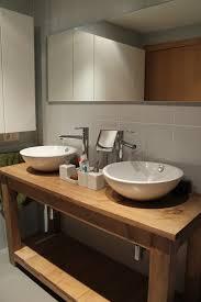 muebles de lavabo mueble lavabo en madera diseño para que el agua fluya a la última
