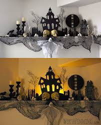 Halloween Home Decorating Ideas Epic Halloween Mantel Decorating Ideas 25 About Remodel Home