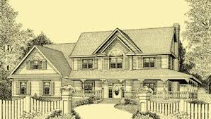 country home with wrap around porch wrap around porch house plans for a 4 bedroom country home