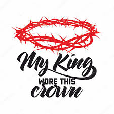 Christian Art Designs Bible Lettering Christian Art Crown Of Thorns My King Wore This