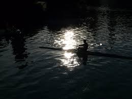 kayak lights for night paddling free images sea light night sunlight wave paddle reflection
