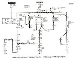 ford ranger wiring by color 1983 1991