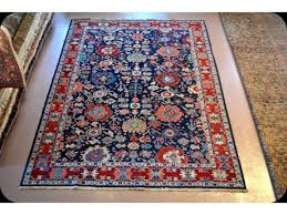 Traditional Persian Rug by Handmade Fine Quality Royal Blue Persian Rug Vegetable Dyed