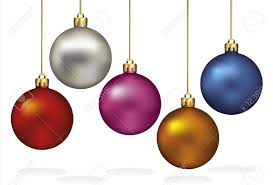 hanging christmas ornaments clipart u2013 festival collections
