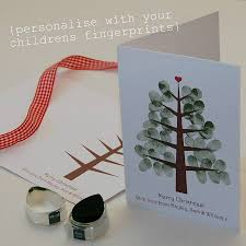 fingerprint christmas cards christmas lights decoration