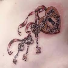 locks with childrens names tattoos pinterest tattoo tatting