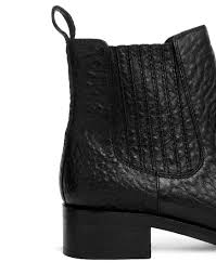 ugg boots sale asos asos atonement leather chelsea ankle boots in black lyst