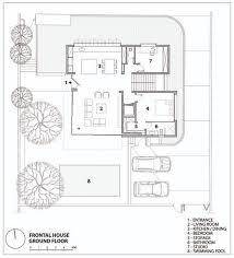 four bedroom house floor plans villa in herzliya pituach archifeto archdaily