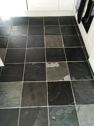 Slate Kitchen Floor by Dull Slate Tiled Kitchen Floor Refreshed In Oxford Oxfordshire
