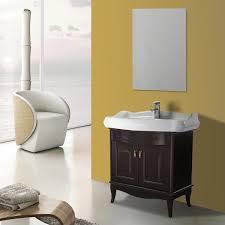 31 inch calvados floor standing bathroom vanity set vanity mirror