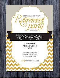 retirement party invitation ideas free acting resume template free