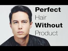 haircuts that need no jell for guys mens hairstyle hacks perfect hair without product youtube