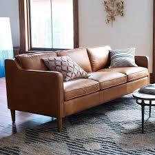 West Elm Leather Sofa Review Thecreativescientist Com