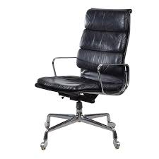 Tan Leather Office Chair Eames Ea219 Executive Office Chair For Vitra Fehlbaum At 1stdibs