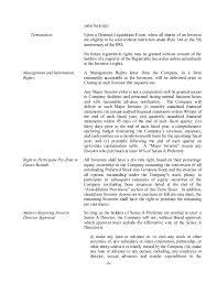 Event Fact Sheet Template Sle Term Sheet