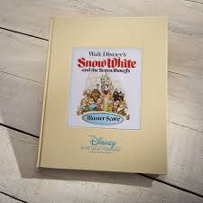 snow white dwarfs master score book shop