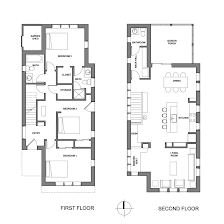 row house floor plan house modern row house plans