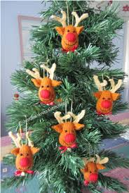 Decoration Of Christmas Tree Games by Reindeer Christmas Tree Ornaments Come On How Cute Are These