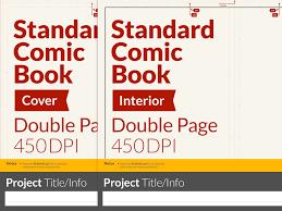 standard comic book template for procreate neil collyer illustration