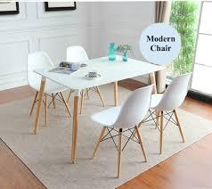 Eames Chair Dining Table Eames Designer Chair Restaurant Creative Chair Modern Cafe