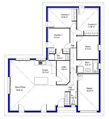 bureau m plan maison 3 chambres 1 bureau 12 lysa contemporaine maisons lara
