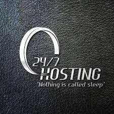 texture for logo entry 28 by rochrockz for logo design for 24 7 hosting freelancer