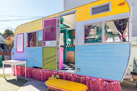 Tiny Houses On Airbnb by This Food Truck Turned Tiny Home Is The Peppiest Transformation