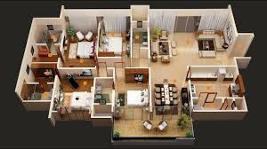 4 bedroom home plans 50 four 4 bedroom apartment house plans architecture design
