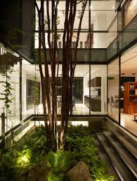 Interior Garden Plants by Beautiful Indoor Garden Of Modern Interior Architecture