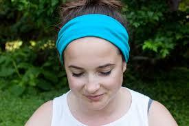 yoga headband tutorial sew a yoga headband 3 ways the homesteady