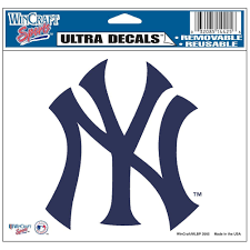 amazon com new york yankees logo decal automotive decals