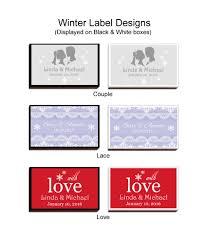 theme line winter winter wonderland wedding theme personalized matches free assembly