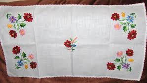 Kitchen Embroidery Designs Embroidery Designs For Tablecloth Makaroka Com