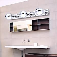 Bathroom Mirror Cabinets With Led Lights by 2017 Wall Lamps Ball Led Mirror Lights Acrylic Stainless Steel