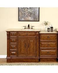 off center sink bathroom vanity deals on silkroad exclusive right side off center sink bathroom