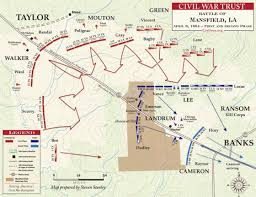 Mansfield Ohio Map battle of mansfield first and second phase civil war trust