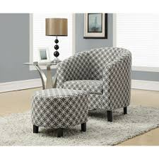 Armchair Ottoman Design Ideas Marvelous Fabric Armchairs And Ottomans Living Room Awesome