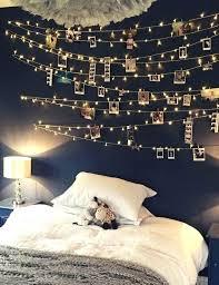 Wall Bedroom Lights Light Bedroom White Flower Lights String Lights Lights