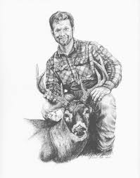 illinois whitetail services llc pencil drawing gallery