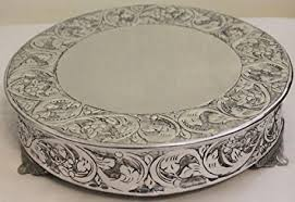 14 inch cake stand 14 inch silver wedding cake stand plateau cake