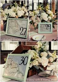 themed table numbers potential idea for table numbers with a travel theme would use