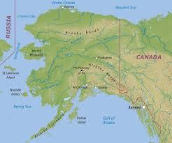 us map anchorage alaska physical map of alaska