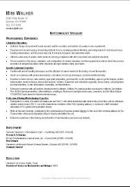 Resume Examples For College Student by Examples Of Good Resumes For College Students 14 Good Resume