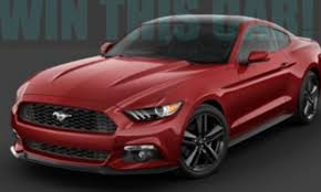 Black Red Mustang 2016 Ruby Red Mustang Coupe