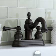 bathroom sink tap rubbed bronze ceramic handles