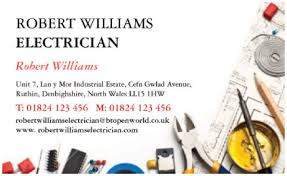 Business Card Template Online Free Business Cards Online Free Online Electrical Services Templates