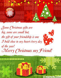 gift of your friendship greeting for friend