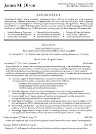 sample resume for tax accountant entry level accounting resume
